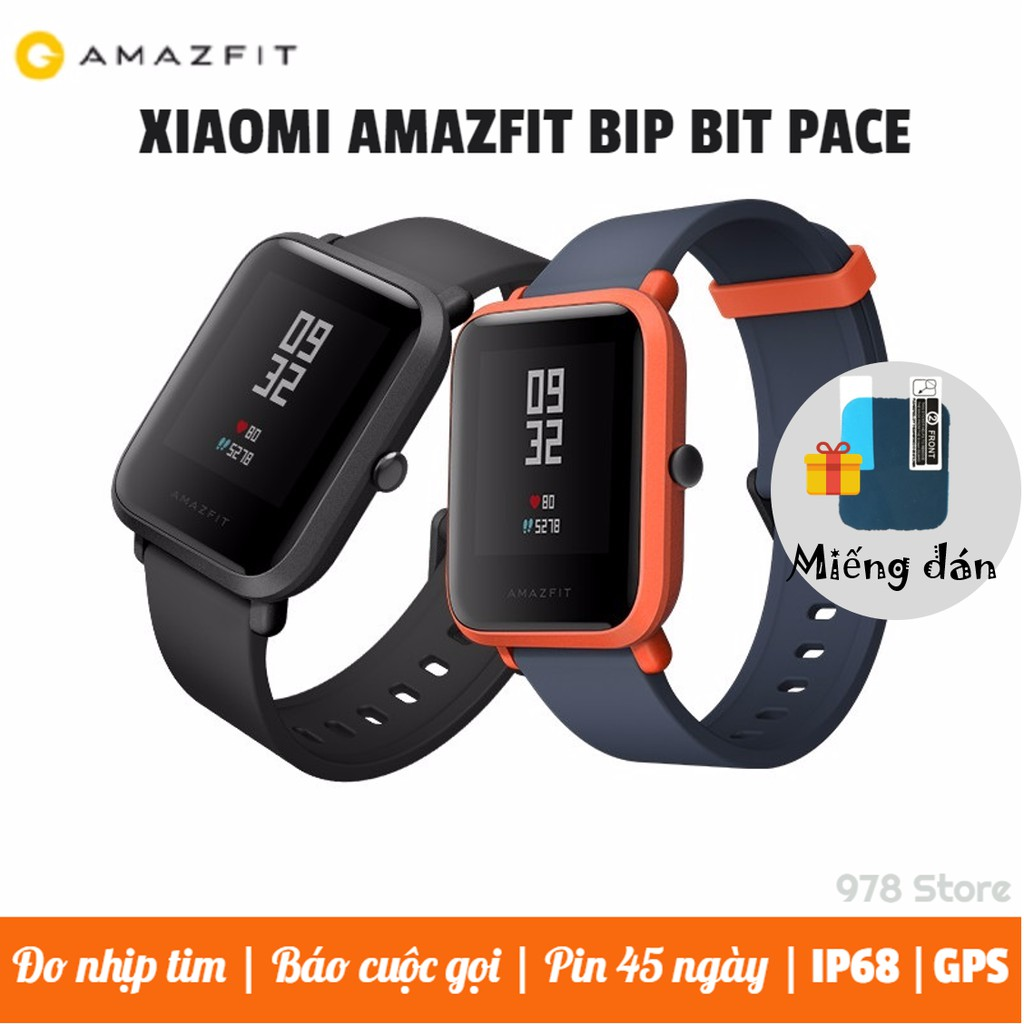 [QUỐC TẾ] Đồng hồ thông minh Xiaomi Amazfit Bip Bit...