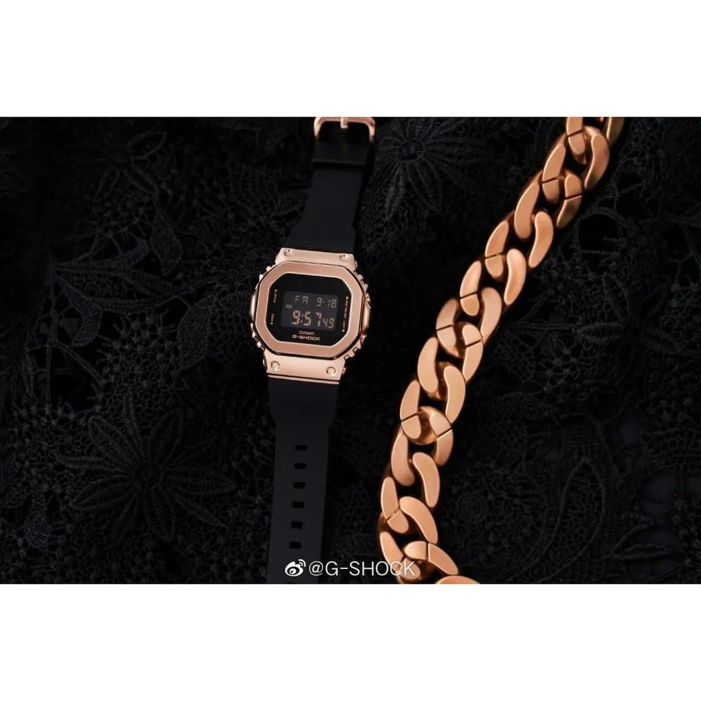 Đồng hồ casio nữ dây nhựa G-SHOCK GM-S5600PG-1DR chính hãng