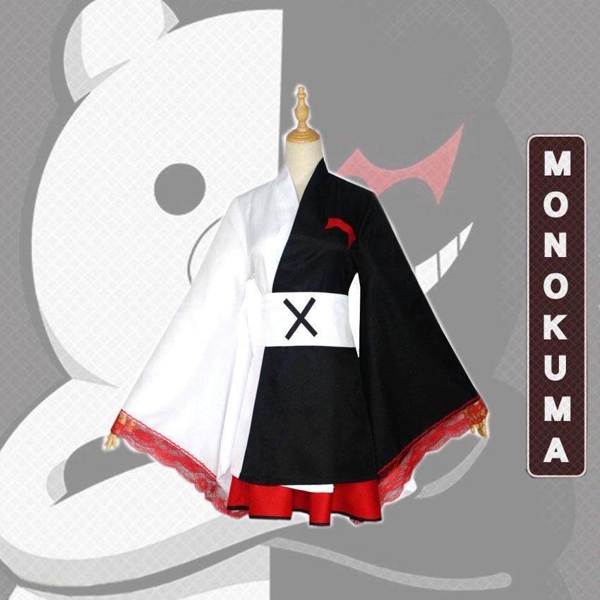 Bộ Đồ Kimono Hóa Trang Nhân Vật Anime Monokuma Chất Lượng Cao