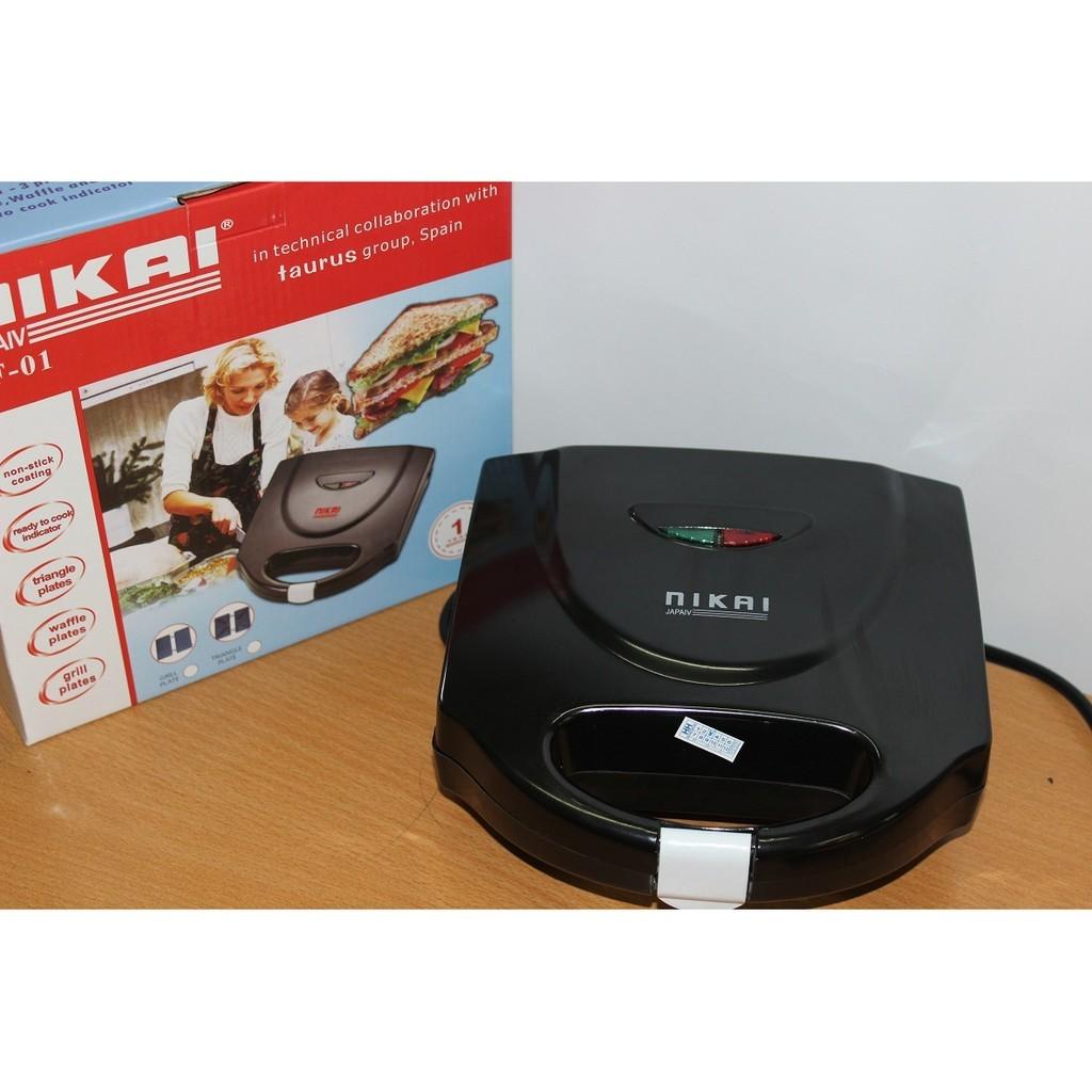 Máy nướng bánh Mini Nikai bảo hành 1 năm - 2701928 , 79212615 , 322_79212615 , 180000 , May-nuong-banh-Mini-Nikai-bao-hanh-1-nam-322_79212615 , shopee.vn , Máy nướng bánh Mini Nikai bảo hành 1 năm