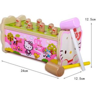 Đập chuột gỗ KITTY đẹp rẻ nhất thị trường cho bé