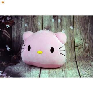 [RẺ NHẤT]Gối tựa đầu Hello Kitty màu hồng đáng yêu, siêu cute
