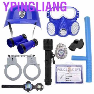 Ypingliang Kids Fancy Dress up Police/Firefighter/Soldier Costume and Accessories Cosplay Suit Set For cosplay Halloween