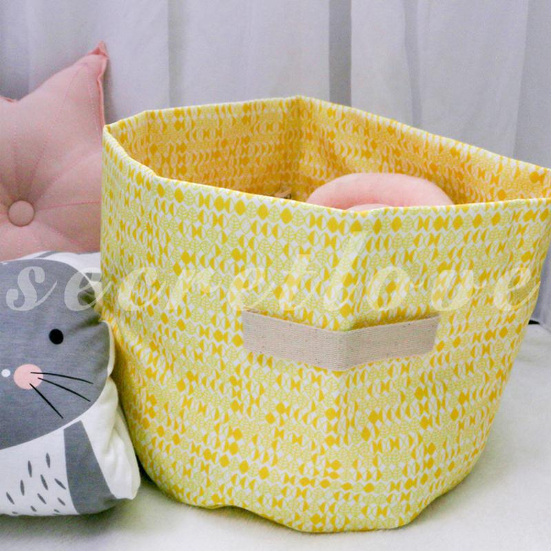 [COD] Waterproof Toys Storages Barrel Washing Clothes Basket Hand on Foldable Baby Clothing