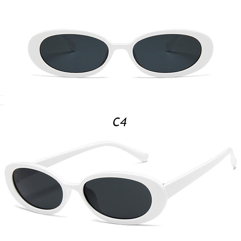 Kính mát gọng nhựa chống tia UV kiểu dáng thời trang cá tính chất lượng cao