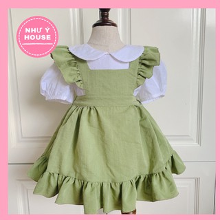 Váy thiết kế cho Bé gái( sét rời 2 chi tiết) 🎉FREESHIP🎉 NHƯ Ý HOUSE's-Đầm trẻ em THIẾT KẾ cho bé từ 0 - 8 tuổi