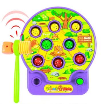 Bộ đồ chơi đập chuột phát nhạc dùng pin cho bé