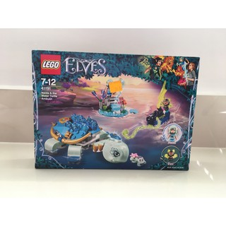 Đồ Chơi Lắp Ráp LEGO Elves 41191 (Naida & The Water Turtle Ambush) – 205 pieces – Hàng chính hãng nhập từ Pháp