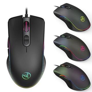 Chuột gaming có dây HXSJ A867RGB độ bền cao con lăn nhẹ hỗ trợ đắc lực cho các game thủ, tặng kèm lót chuột TAYLOO