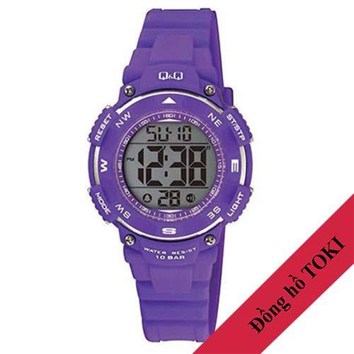 Đồng hồ điện tử Q&Q Citizen M149J003Y dây nhựa