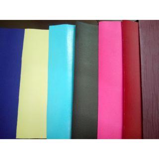 Set 6 tấm vải da làm handmade