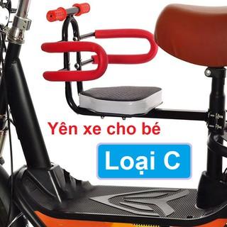 Ghế đệm gắn xe đạp cho trẻ em loại C - Yên xe đạp cho trẻ em - Ghế cho trẻ em thumbnail