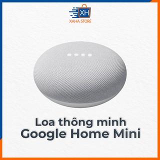 Loa thông minh Google Home Mini (GA00210-US) tích hợp trợ lý ảo Google Assisstant - đen/xanh/xám