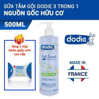 Sữa Tắm Gội Toàn Thân Cho Bé Dodie Nguyên Liệu Hữu Cơ 3 Trong 1 Dodie - 500ml - 1000ml thumbnail