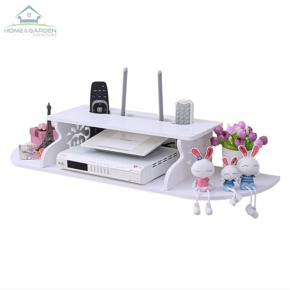Kệ gỗ treo tường gắn TV Set-top box cao cấp MDF - Home and Garden - 3551881 , 1239465611 , 322_1239465611 , 390000 , Ke-go-treo-tuong-gan-TV-Set-top-box-cao-cap-MDF-Home-and-Garden-322_1239465611 , shopee.vn , Kệ gỗ treo tường gắn TV Set-top box cao cấp MDF - Home and Garden