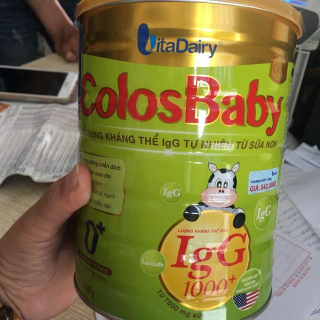 Sữa Colos Baby số 0+, số 1+ loại 800g