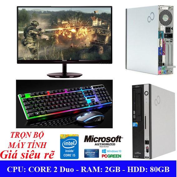 Hàng nhập khẩu – Trọn bộ máy tính nhập với cấu hình CPU Intel® Core 2 Dou Giá chỉ 2.850.000₫
