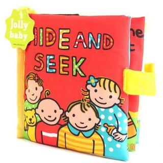 Sách vải hãng Jolly Baby – Hide and Seek