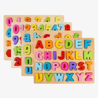 Bảng gỗ chữ cái số đếm và phép tính