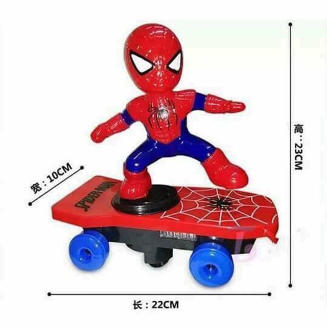 Đồ chơi người nhện trượt ván - 2686190 , 1160539748 , 322_1160539748 , 56000 , Do-choi-nguoi-nhen-truot-van-322_1160539748 , shopee.vn , Đồ chơi người nhện trượt ván