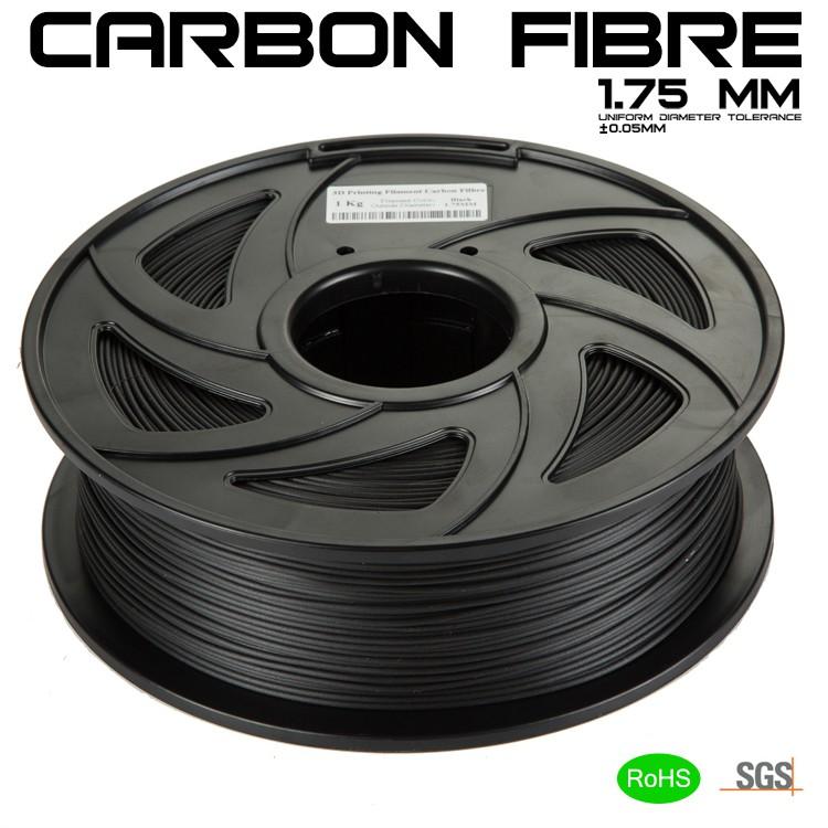 Cuộn nhựa in 3D sợi cacbon CF – PLA 1.75mm – Cacbon Fiber 1kg Giá chỉ 420.000₫