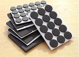 Bộ 30 Miếng lót kê chân bàn ghế chống xướt sàn nhà DTM Giao vuồng tròn ngẫu nhiên thumbnail