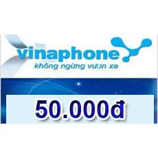 Thẻ cào vina 50k( Mã thẻ vinaphone 50.000)
