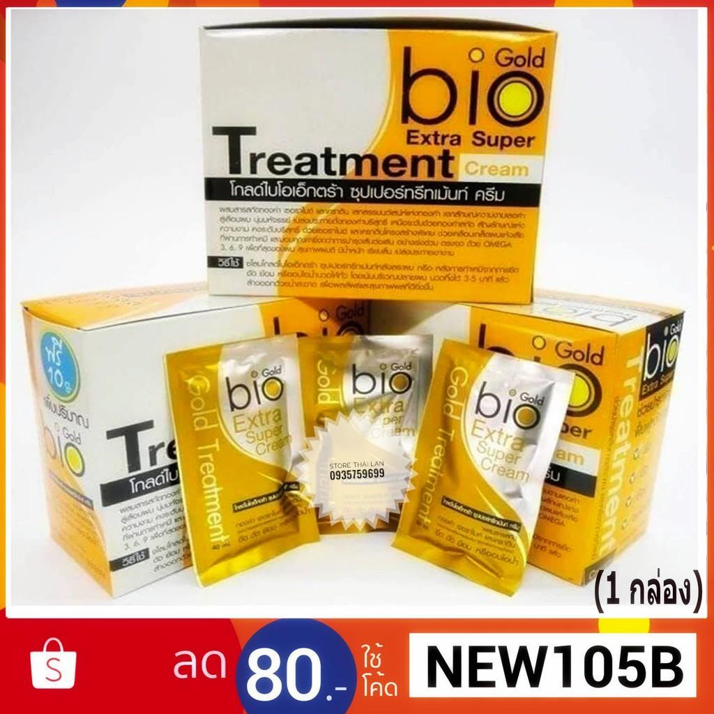 [HÀNG CHÍNH HÃNG]Ủ TÓC bio extra gold treatment 30 ml