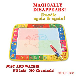 39x29cm Water Drawing Mat With Magic Pens Doodle Mat Baby Educational Toys
