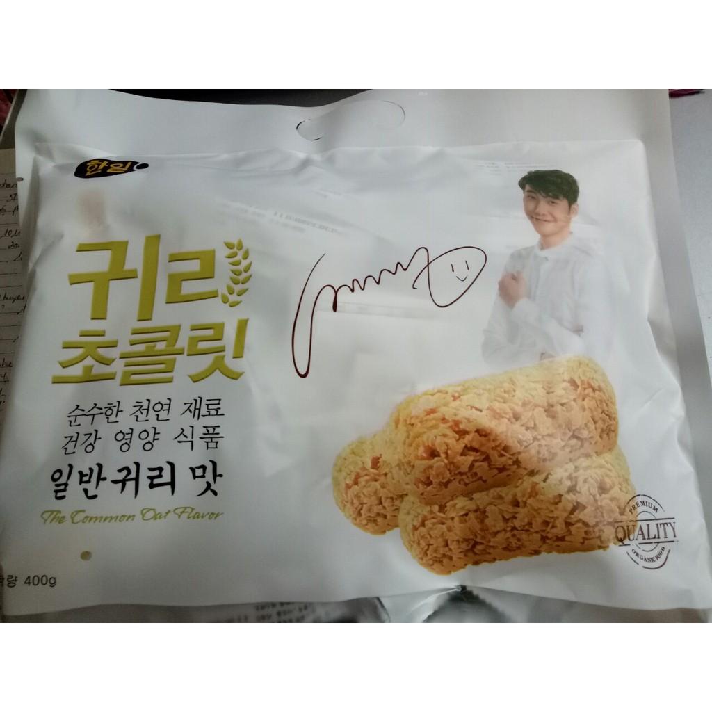 Combo 10 gói bánh yến mạch Hàn Quốc