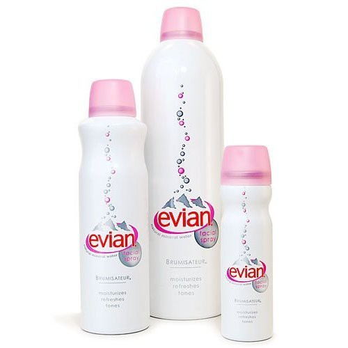 Xịt Khoáng Dưỡng Ẩm Evian Natural Mineral Water Mist