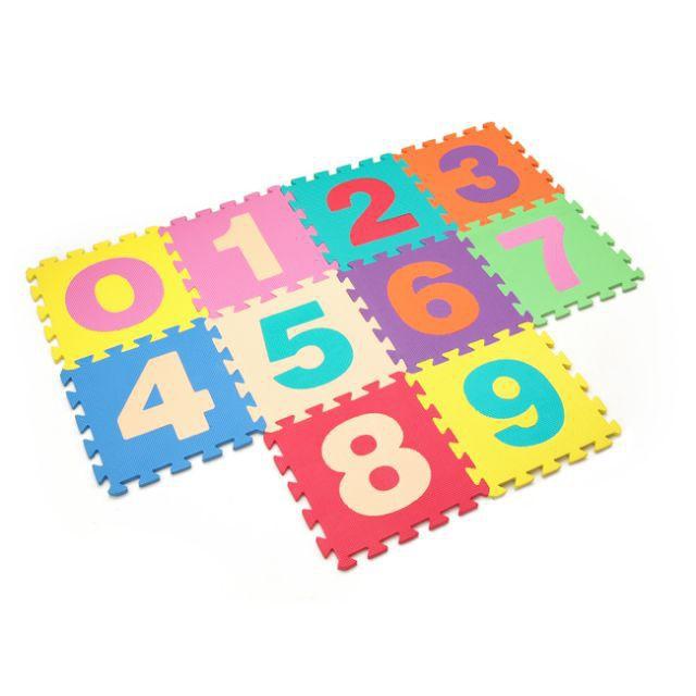 Combo 10 miếng thảm xốp đồ chơi cho bé yêu dễ dàng lắp ráp theo sự sáng tạo của mình GP60738