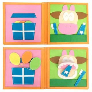 Sách vải Ú Oà – Dành cho bé từ 0-3