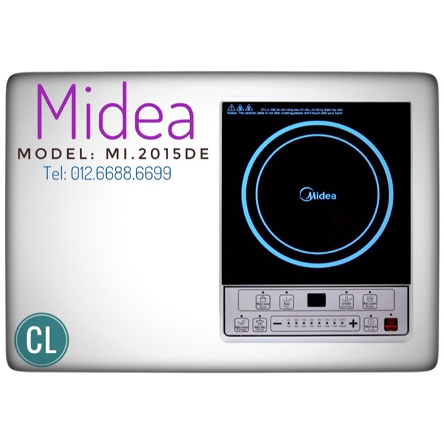 Hàng chính hãng - Bếp từ Midea MIB2015DE