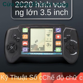 Máy chơi game Tetris màn hình lớn 80 thế hệ cổ điển hoài cổ PSP Snake Children ích lợi Đồ chơi thông minh cầm tay thumbnail