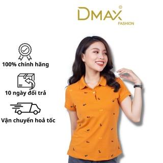 Áo thun polo nữ cổ bẻ cộc tay Dmax họa tiết sao băng thumbnail