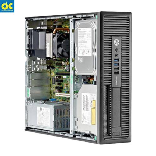 Máy tính đồng bộ HP 600 G1 SFF (CPU I3-4130 3.4Ghz,Ram 4Gb,SSD 120GB) Giá chỉ 3.499.000₫