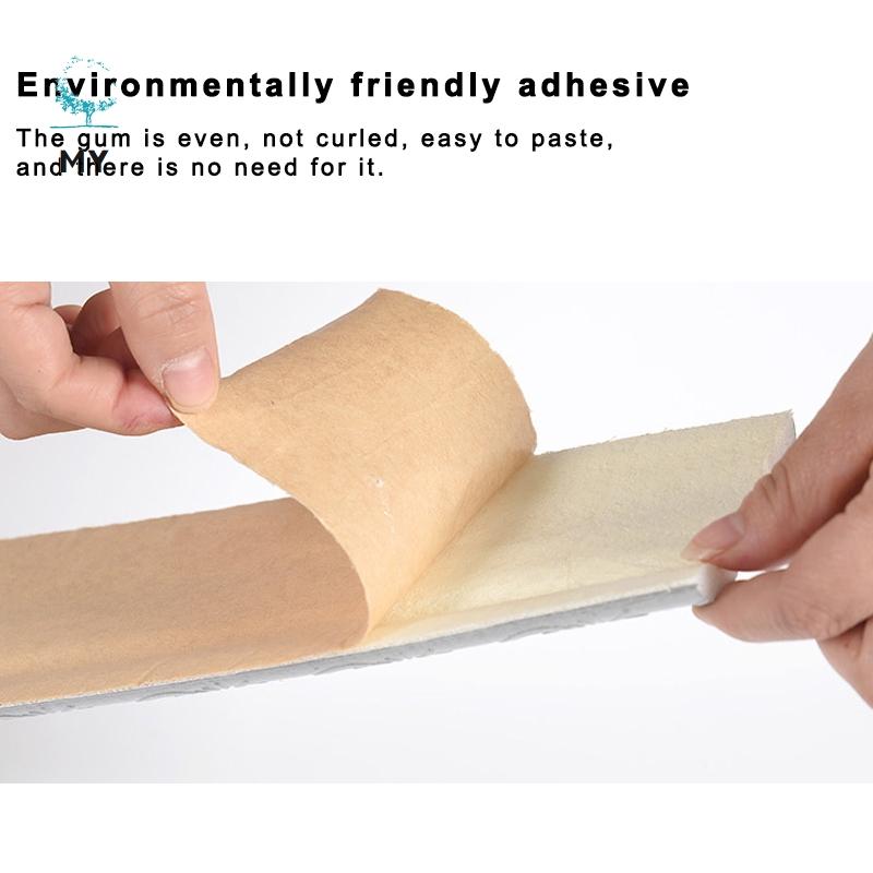Miếng dán 3D dùng trang trí chống nước thiết kế tiện lợi dễ dùng