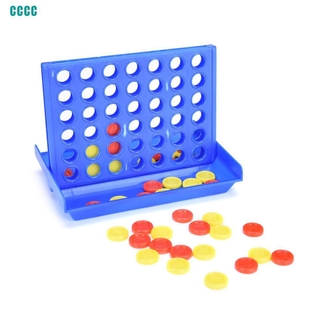 ∷Connect Four In A Row 4 In A Line Board Game Kids Children Fun Educational Toy