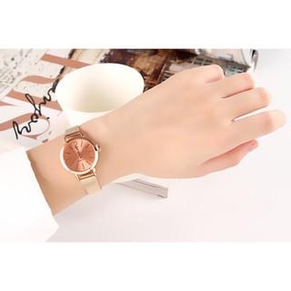 Đồng hồ thời trang nữ Vesi dây lưới VS669