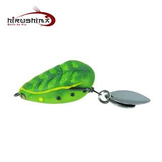 Mồi câu cá lóc Hirushima Champi Frog V2 - 2 thìa thumbnail