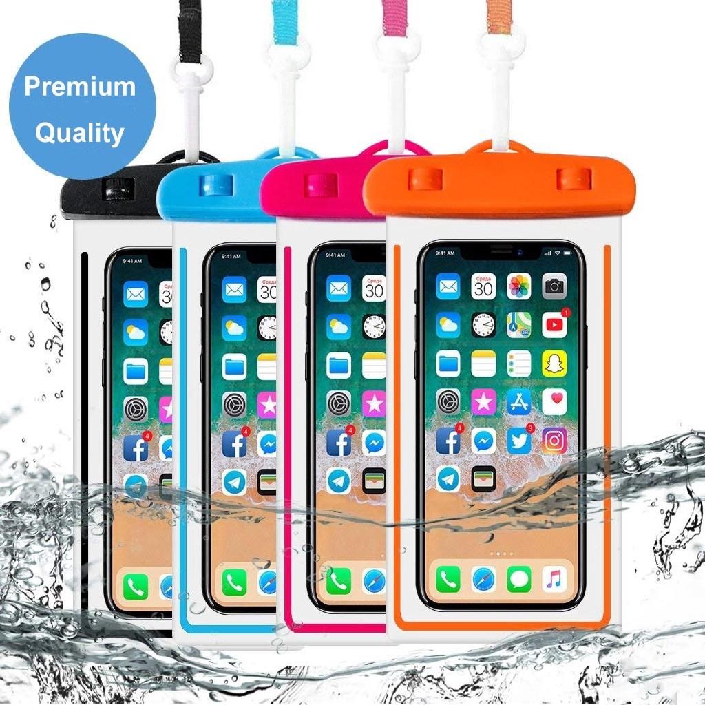 Túi đựng điện thoại chống nước cho iPhone Samsung Xiaomi huawei vivo oppo