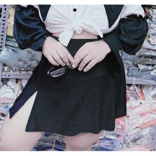 váy xẻ có quần trong đủ size 50kg-100kg (ms:XKK-35)