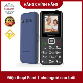 điện thoại masstel fami 1 loa to chữ to (dành cho người già ) – bảo hành chính hãng 12 tháng