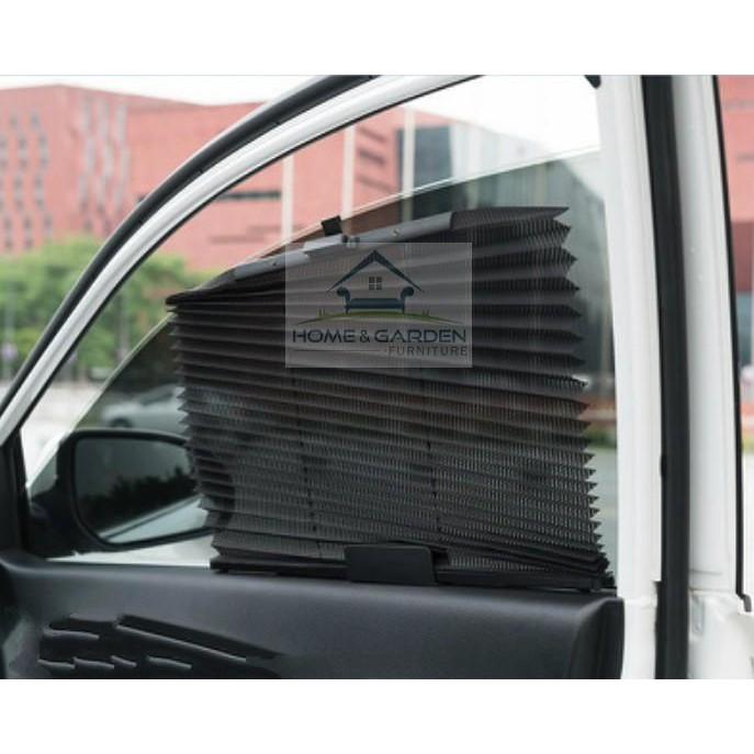 Rèm che nắng ô tô tự động 2 bên cửa Home and Garden (60x46)cm (Bộ 2 cái)