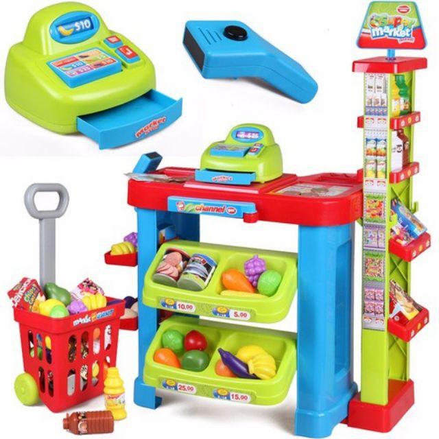 [ Siêu sale ] Bộ đồ chơi siêu thị mini với đầy đủ các trang thiết bị siêu thị - 21946821 , 2407908895 , 322_2407908895 , 690000 , -Sieu-sale-Bo-do-choi-sieu-thi-mini-voi-day-du-cac-trang-thiet-bi-sieu-thi-322_2407908895 , shopee.vn , [ Siêu sale ] Bộ đồ chơi siêu thị mini với đầy đủ các trang thiết bị siêu thị