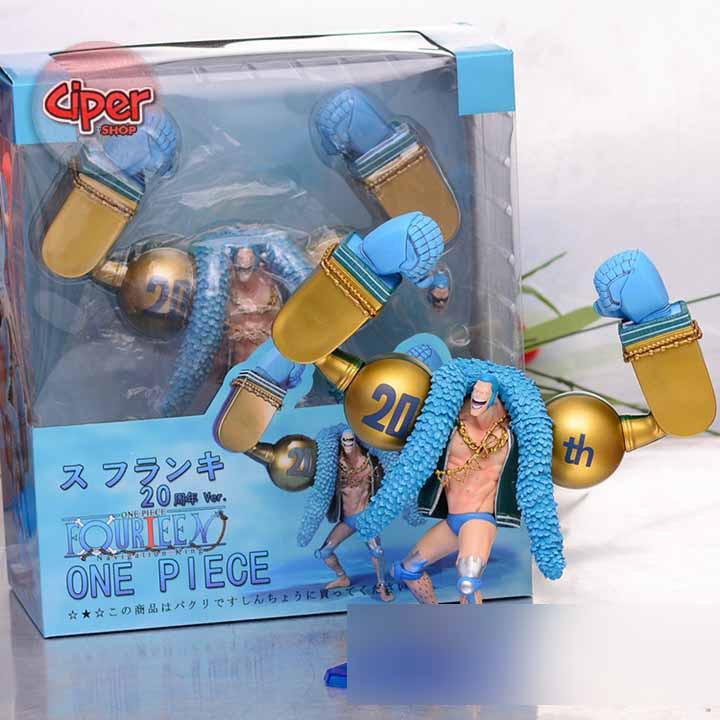Mô hình Franky 20th- Mô hình One Piece