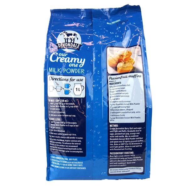 Sữa tươi dạng bột nguyên kem Devondale - 1kg