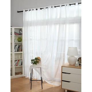 [Loại 1] Rèm voan trắng tươi sáng trang trí cửa và phòng tiệc giá gốc tại xưởng