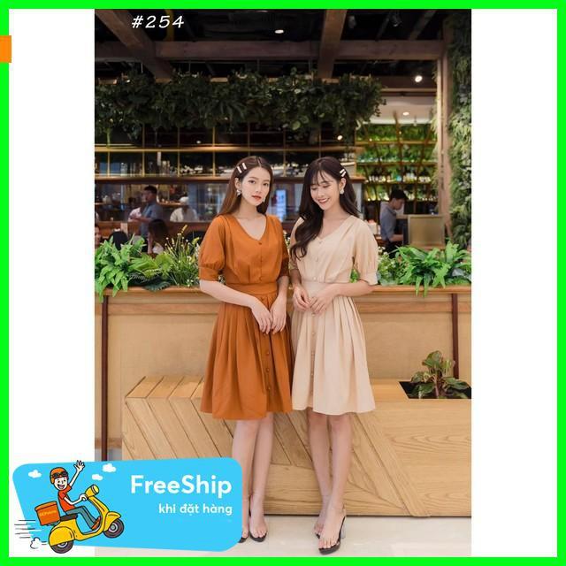2189691073 - [ Top 9 ] Đầm thiết kế, đầm xếp ly cổ V Seni Dress váy chữ a váy 1 vai váy chữ a váy maxi váy dạ hội